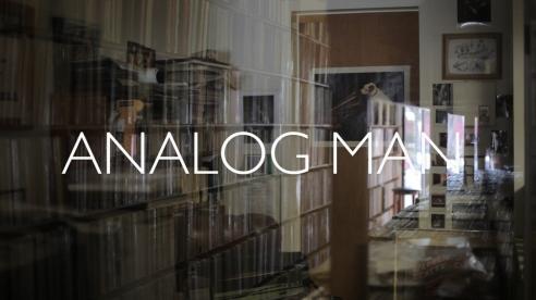 Analog Man Title